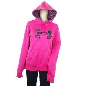 Under Armour Pink Hoodie Sweatshirt